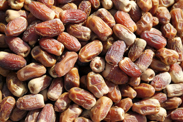 dry date palm fruits