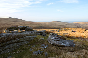 Dartmoor Devon Uk