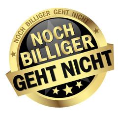 button with text Noch billiger geht nicht