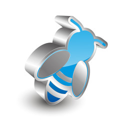 Bee 3D Icon
