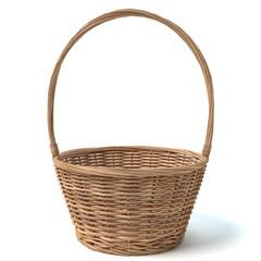3d illustration of a basket