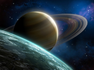 Ring planet