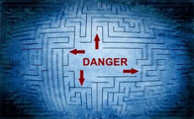 Danger maze concept