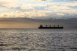Oil tanker in the morning - 79924991