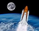 Space Shuttle Launch Rocket - 79925582