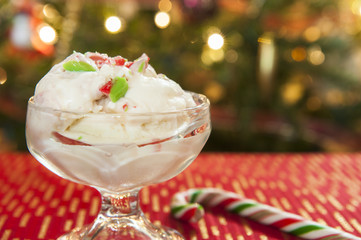 Candy Cane Ice Cream