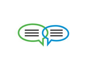 Bubble Chat Message