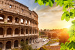 Colosseum at sunset - 79927990