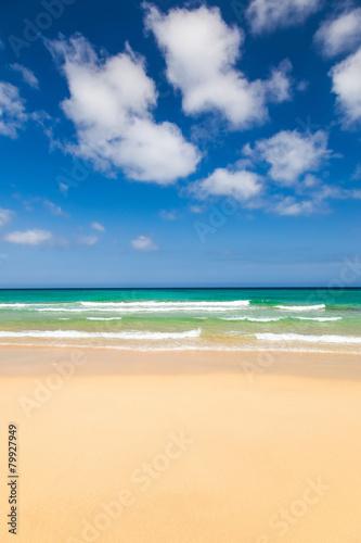 Panel Szklany Beautiful ocean beach