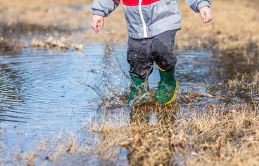 Playing in Puddles