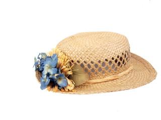 vintage hat - straw2