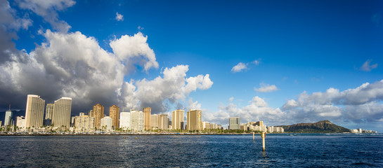 Hawaii skyline