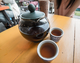 The Time of Tea Break.