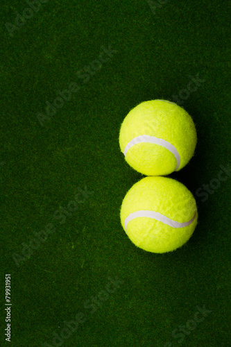 Staande foto Stierenvechten tennis ball