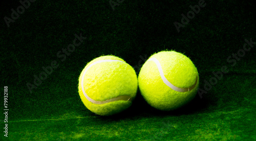 Foto op Canvas Stierenvechten tennis ball