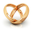 Golden wedding rings - 79934100