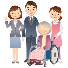 高齢者をサポートする行政書士