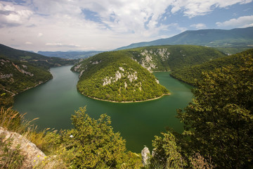 meander of the river Vrbas