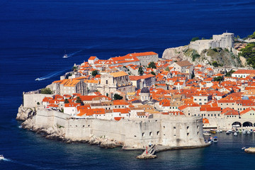 Fortress of Dubrovnik old town, Croatia