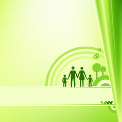 Abstract Family Background