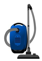Realistic illustration of vacuum cleaner