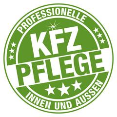 Professionelle KFZ-Pflege - innen und außen