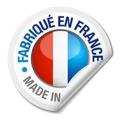 Sticker fabriqué en France