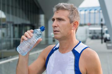 Runner Refreshing After Running