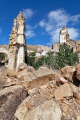 Earthquake ruins of Poggioreale, Sicily