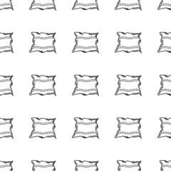 Vector background for pillow