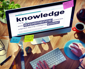 Knowledge Experience Power Ability Learning Concept