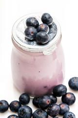 Pot  yaourt  fruits  myrtilles