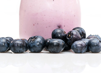 Yaourt fruits myrtilles