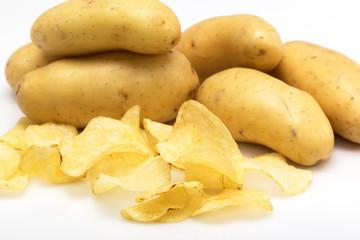 Pommes de terre chips