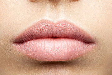 Perfect natural lips