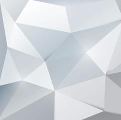 shiny metal triangle texture background, vector illustration
