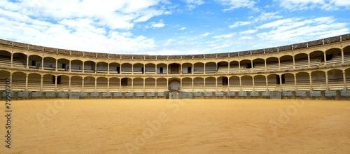 Foto op Aluminium Oude gebouw Bullring in Ronda, Andalusia, Spain