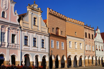 Town square in Telc
