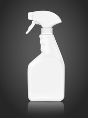 blank bottle spray detergent