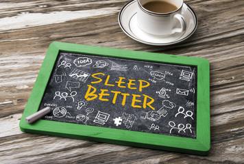 sleep better concept