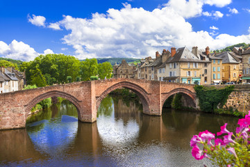 Espalion - one of the most beautiful villages of France (Aveyron
