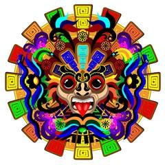 Aztec Warrior Mask