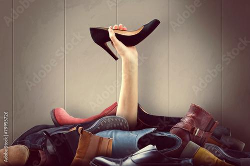 Leinwanddruck Bild Shoes