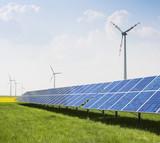 Windpark Solaranlage