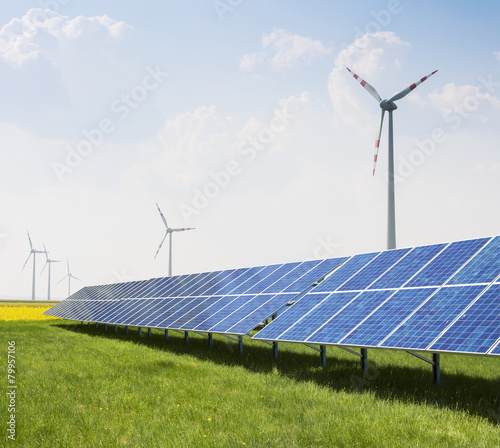 Windpark Solaranlage - 79957106