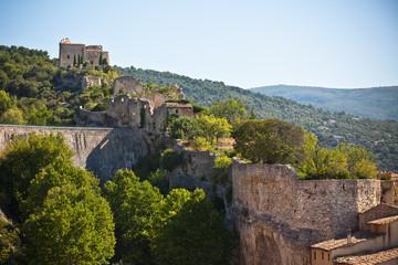 View of Saint Saturnin les Apt, Provence, France