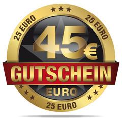 45 Euro Gutschein