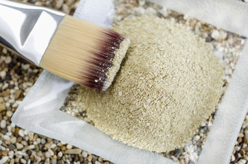 Cosmetic clay kaolin powder