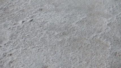 dried sea salt is similar to sand