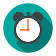 Alarm Clock in flat vector illustration - 79959389